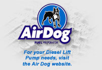 For your Diesel Lift Pump needs, visit the Air Dog web site.